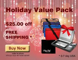 Here's a special deal from the folks at Flip-Pal mobile scanner: Flip-Pal Holiday Value Pack will save you $25 off the regular price of all these items so you can get started preserving family photos and stories! You won't find a better deal on all these items together! And how about FREE SHIPPING?