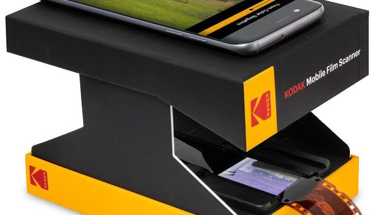 KODAK Mobile Film Scanner uses your mobile phone to scan slides and film!