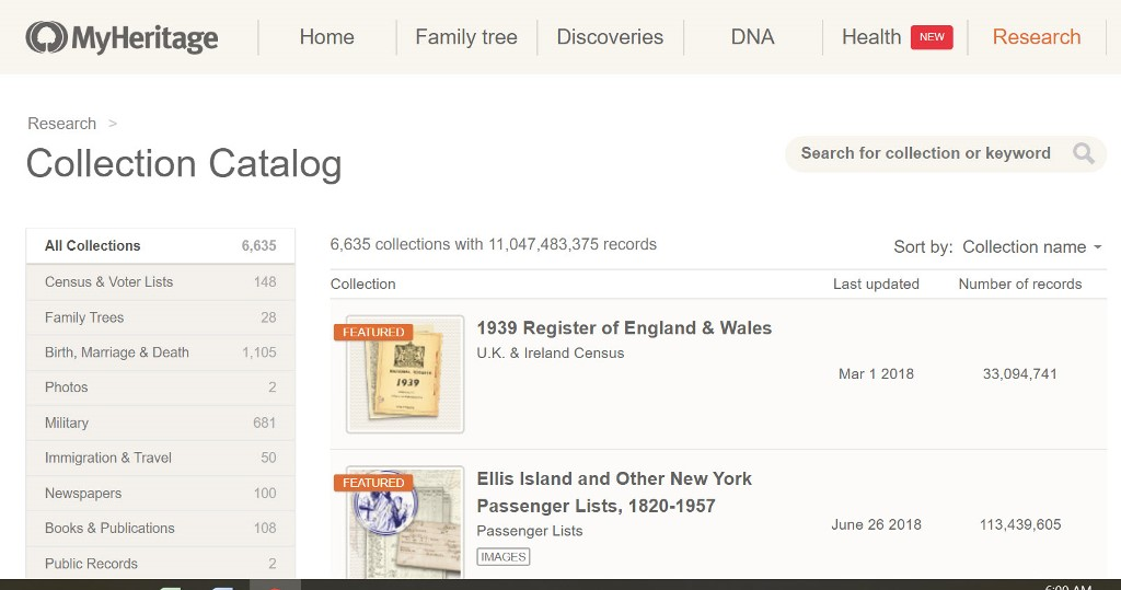 FREE WEBINAR 10 Must-Have MyHeritage Databases presented by Gena Philibert-Ortega & MyHeritage Webinars, Tuesday, January 14th, 2020, 2:00 pm Eastern / 1:00 pm Central / 12:00 pm Mountain / 11:00 am Pacific. Looking for an ancestor? MyHeritage has many research options. However, there are 10 that are must-haves for any researcher. Join me as we explore what databases you need to know about and how to research them so you can find that ancestor.