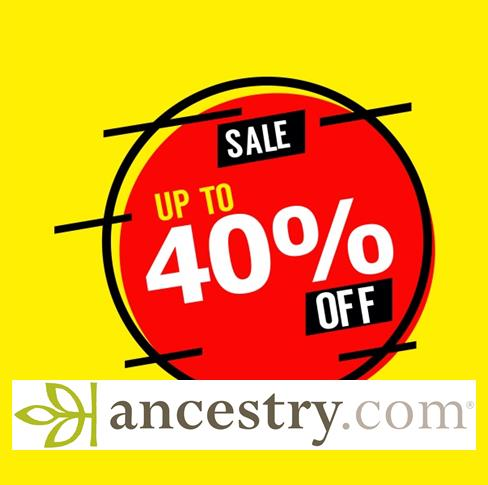 HUGE Ancestry Sale with savings of 25% on Ancestry Memberships and up to 40% on AncestryDNA!