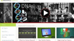 """FREE ACCESS to Ancestry Academy® Courses! """"Ancestry Academy® is a collection of free video tutorials containing research tips, genealogy insights, and DNA tools. From any page on Ancestry®, click the Extras tab and select Ancestry Academy. Search for videos at the top or scroll through topics on the left side of the page."""""""