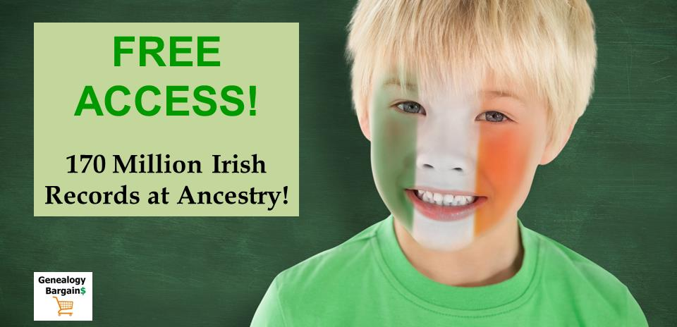 Ancestry helps you find your Irish ancestors—and the places they called home with FREE ACCESS to over 170 MILLION Irish records!