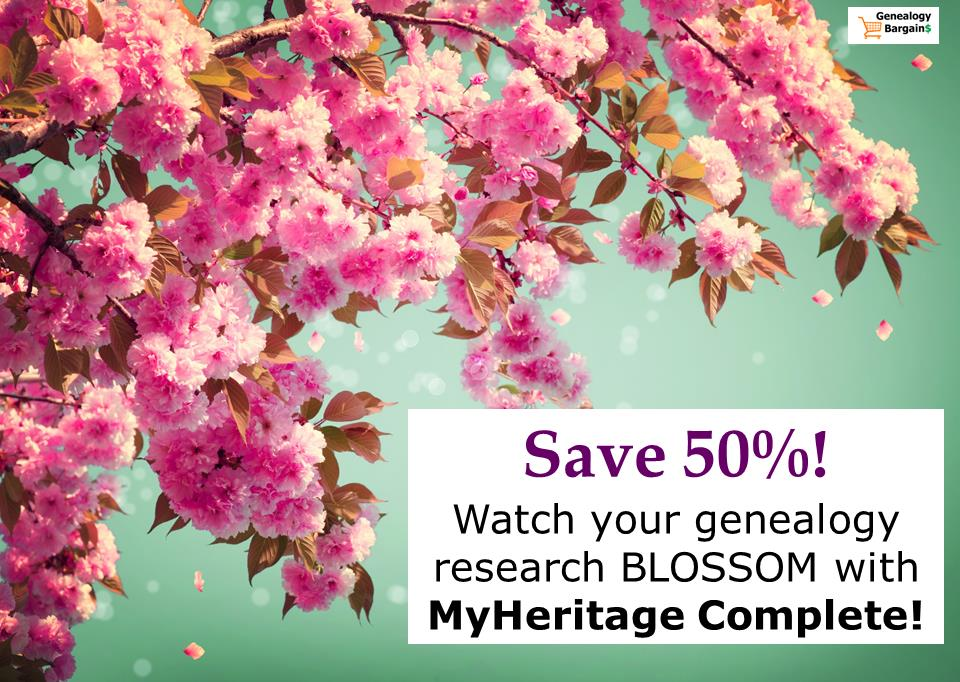 Is your current genealogy membership worth the money? Snag this EXCLUSIVE 50% off deal on MyHeritage Complete!