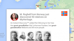 FREE WEBINAR Jumpstart Your MyHeritage Family Tree with Instant Discoveries presented by James Tanner, MyHeritage Webinars, Tuesday, April 14th, 2020, 2:00 pm Eastern / 1:00 pm Central / 12:00 pm Mountain / 11:00 am Pacific. Jump start your family tree by learning how to add and evaluate instant discoveries to your MyHeritage family tree. Each Instant Discovery™ is based on MyHeritage's superior Smart Matching™ technology from other MyHeritage family trees and Record Matching technologies from other family tree collections with automatic elimination of incorrect matches.