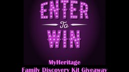 Enter the MyHeritage Family Discovery Kit TODAY and you could win a LIMITED EDITION kit to help you build a family tree, reveal new information about your ancestors, and create a beautiful album to cherish your family story for generations to come.