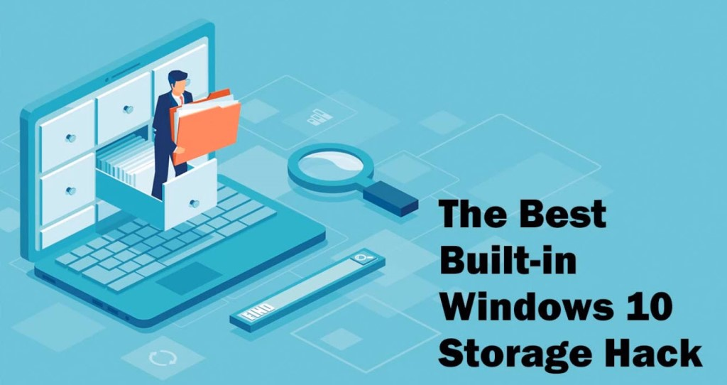 Today's FREE WEBINAR at Legacy Family Tree Webinars is The Best Built-in Windows 10 Storage Hack by Marian Pierre-Louis