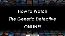 "Here's how to watch last night's episode of ABC's ""The Genetic Detective"" online and on television featuring genetic genealogist CeCe Moore"