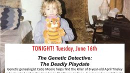 The killer of 8-year-old April Tinsley taunted police for decades in Fort Wayne, Indiana, leaving notes and threats with viable DNA samples, but they still couldn't catch him until now. Interviews featured in the episode include April's mother, Janet Tinsley, and cousin Kristina Snyder; Fort Wayne Police Department's Detective Brian Martin and retired detective Danny Jackson; coroner Chris Meihls; retired forensic scientist Linda McDonald; reporter Jamie Duffy; and Parabon NanoLabs' founder Steve Armentrout and director of bioinformatics Ellen Greytak.