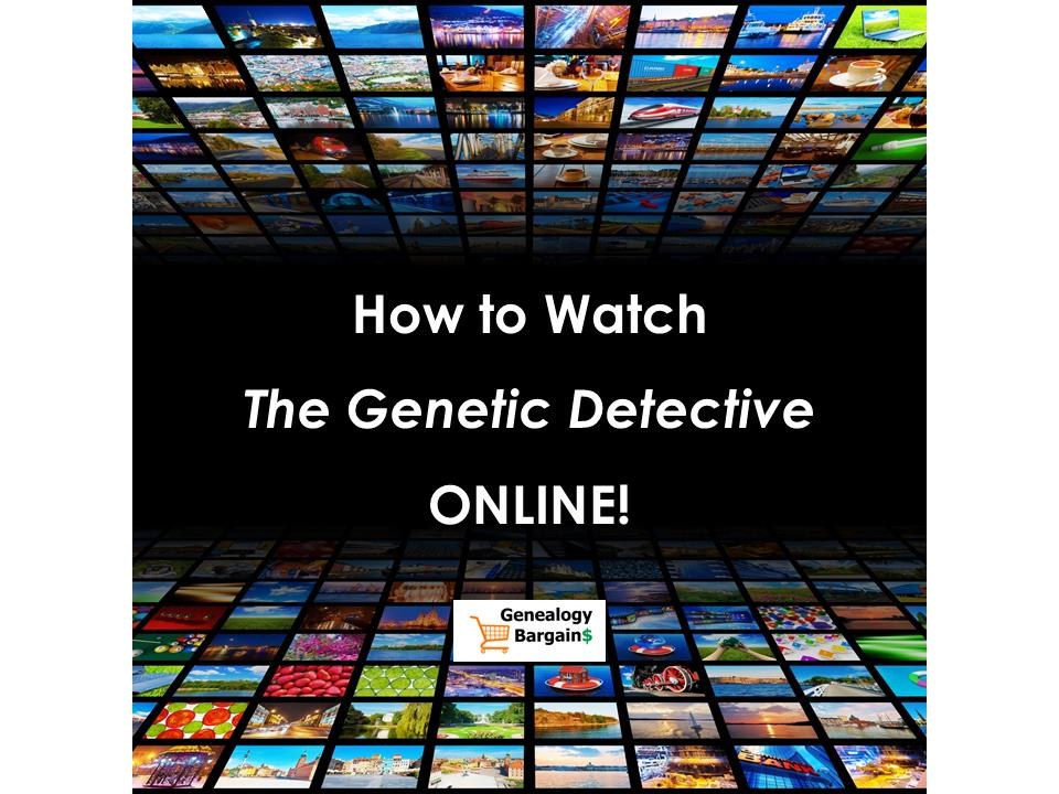 """Here's how to watch ABC's """"The Genetic Detective"""" online and how you can use your own DNA test data to help solve criminal cold cases!"""