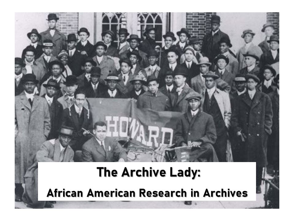 Melissa Barker, aka The Archive Lady, explains how to research African American ancestors in archival records with these tips and tricks!
