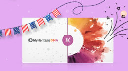 July 4th Sale at MyHeritage DNA! With our EXCLUSIVE PROMO CODE you can get MyHeritage DNA for just $49 USD plus FREE SHIPPING!