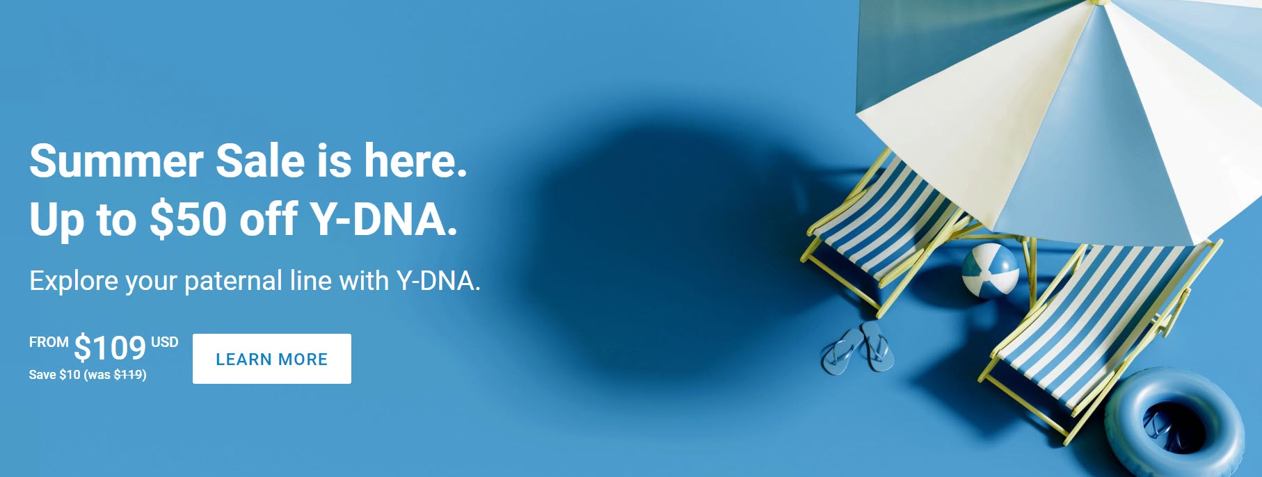 There are even more savings when you purchase these Y-DNA test kits at during the Summer Sale at FamilyTreeDNA: