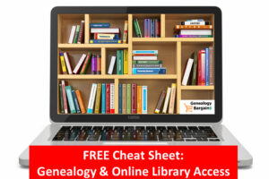 Stuck at home during the COVID-19 pandemic AND you need to access a library? With a library card you can access genealogy records, research databases and more!