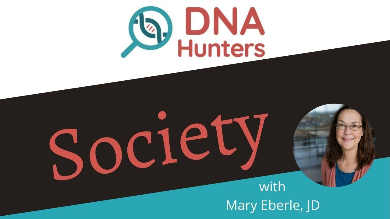 Have you DNA tested and you're not sure what to do next? Or maybe you've attended free webinars, but still have questions? Do you miss attending conferences and being around others passionate about genealogy? DNA Hunters Society is the perfect solution! It's a group of passionate genealogists excited about using DNA to achieve their goals. When you join, you'll get instruction and advice from Mary Eberle--a sought-after speaker with over 30 years of DNA experience.