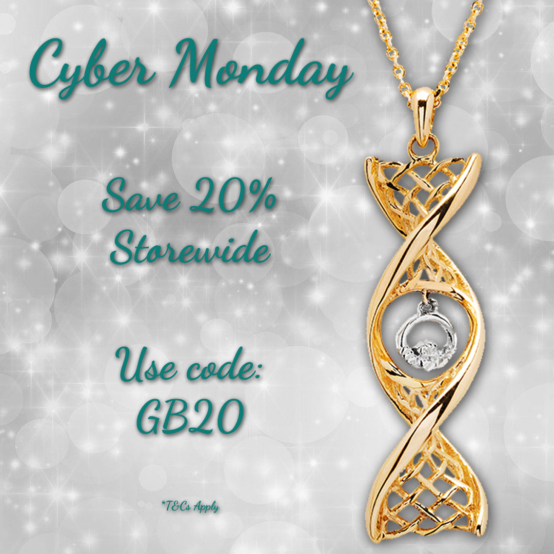 "Celtic DNA Jewelry: Save 20% at Celtic DNA Jewelry! Show off your Celtic pride! Use promo code BF20 at Celtic DNA Jewelry! ""Features of my jewelry are, Free Shipping, Rhodium Plated Sterling Silver, all pieces are Hallmarked. Each piece comes in a luxury box with a lovely story card explaining more about the Celtic symbols."" SHOP NOW"