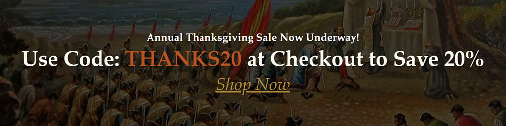 Save 20% on ALL PRODUCTS at Genealogical Publishing Company during the annual Thanksgiving Sale! Now through 11:59 PM EDT, Monday November 30, 2020, you can order any product available at Genealogical Publishing Company at a discount of 20% off the current selling price of the book(s) or e-books of your choice.