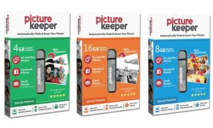 Picture Keeper: Save 50% on the Picture Keeper system of backing up your precious digital images, including ALL THOSE OLD FAMILY PHOTOS you scanned! Picture Keeper is MORE than just a USB drive ... it looks for duplicate images, lets you rename and manage images, and more! SHOP NOW