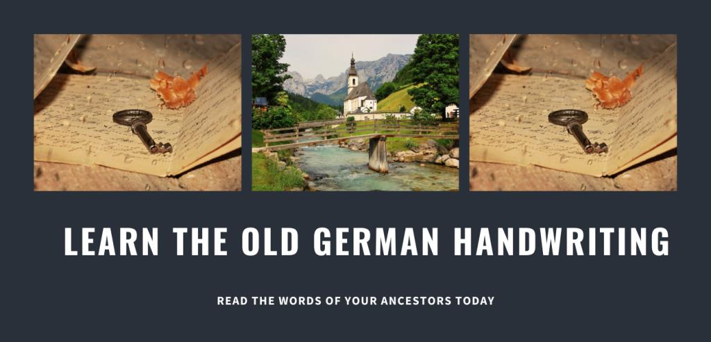 SK Translations: Save 25% on Reading the Old German Handwriting Online Course plus FREE BONUS! BLACK FRIDAY SALE! Get the Reading the Old German Handwriting Course from SK Translations with three skill building levels at a HUGE SAVINGS! Regularly $129 USD per segment, enroll in the ENTIRE SERIES for just $319 USD! And with promo code ANCESTORS25 your final cost is just $239.25 USD! Purchase TODAY and receive a FREE copy of Premium Vocabulary Article Package, a $25 USD value! Don't forget to use the promo code ANCESTORS25 at checkout and save $79.75 USD on the entire 3-part course! Sale valid through Monday, November 30th, 2020. SHOP NOW