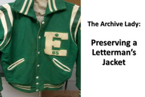 Melissa Barker, The Archive Lady, shares her tips on how to preserve a cherished high-school letterman's jacket!